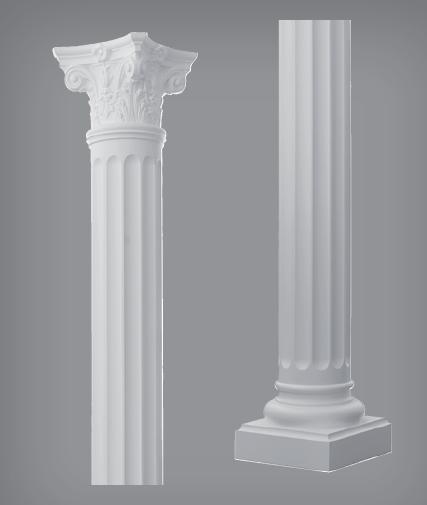 colonne in poliuretano