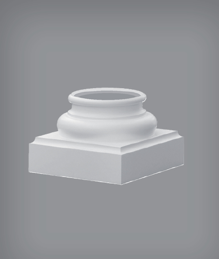 base colonne in polistiolo