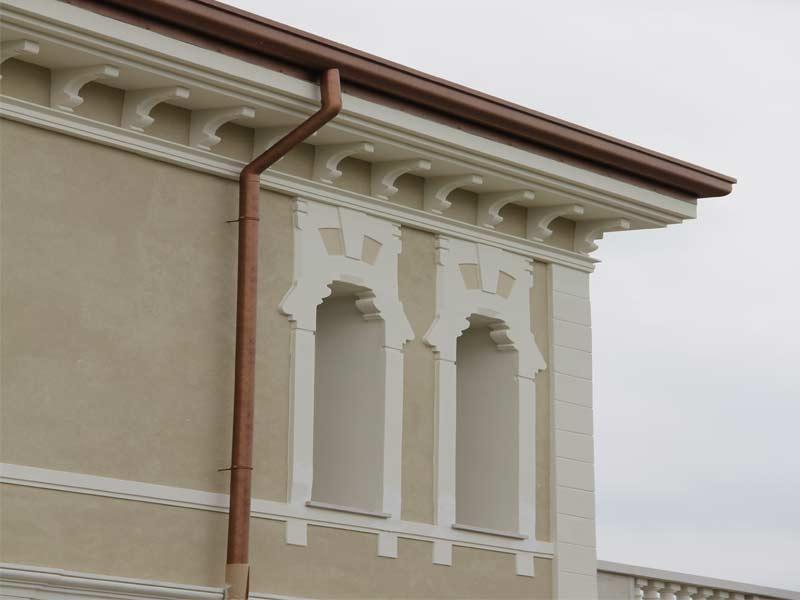 Cornici finestre in EPS riprodotte da rilevo originali in pietra