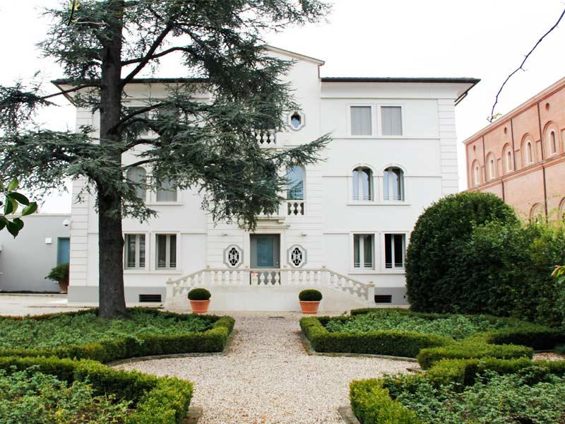 Villa dopo intervento di restauro