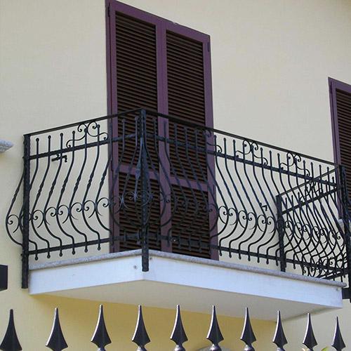 fissaggio balconi con Ercole per isolamento a cappotto