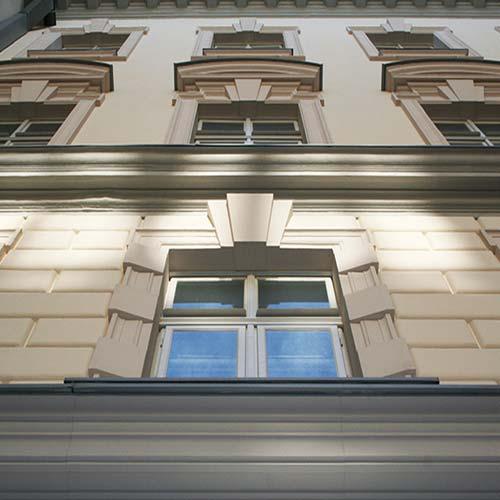 Cornici per finestre in polistirolo su misura
