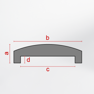 Wall coping EDCP-01