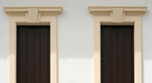 Archivi portfolio pagina 4 di 5 eleni decor - Cornici esterne per finestre ...