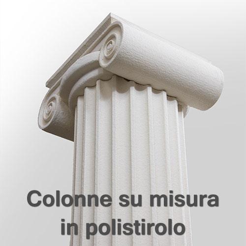 colonne su misura in polistirolo
