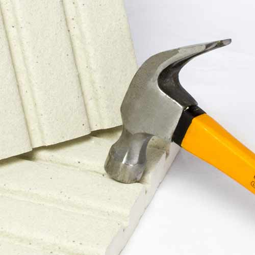 polystyrene coated with carbon external plaster