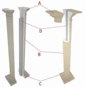 preventivo colonne in polistirolo