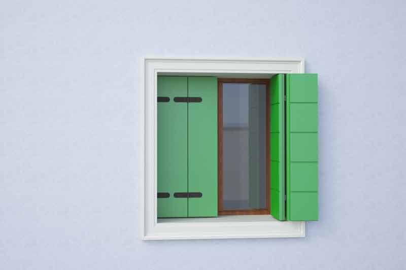 Cornice in polistirolo per finestra