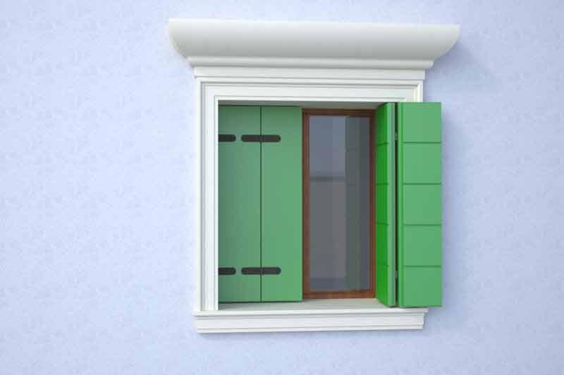 Cornici finestre soprafinestra soglia davanzale - Cornici per finestre esterne prezzi ...