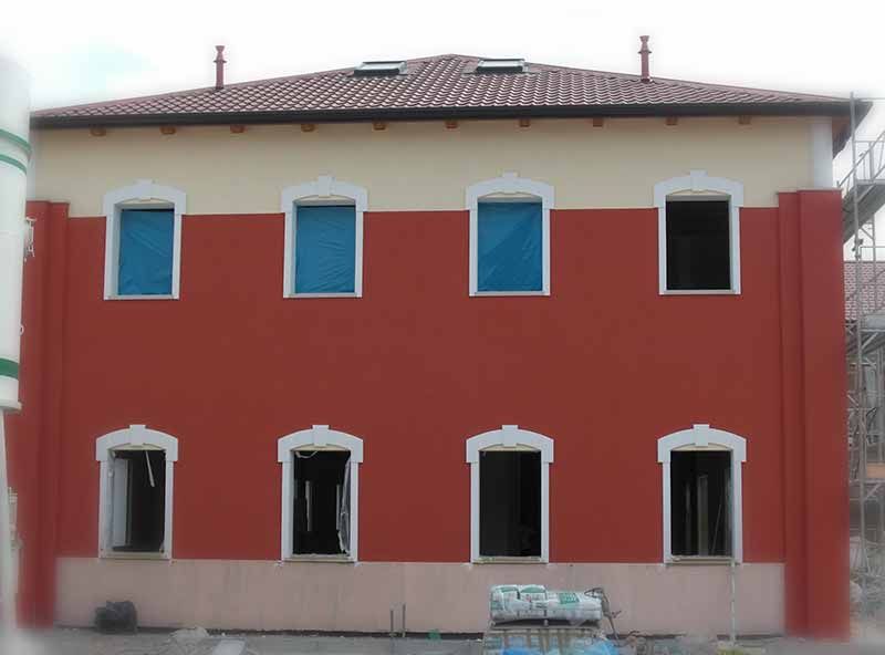Case e ville eleni decor - Cornici finestre in polistirolo ...