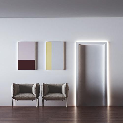 cornici led per interni Eleni-Lighting cornice porta