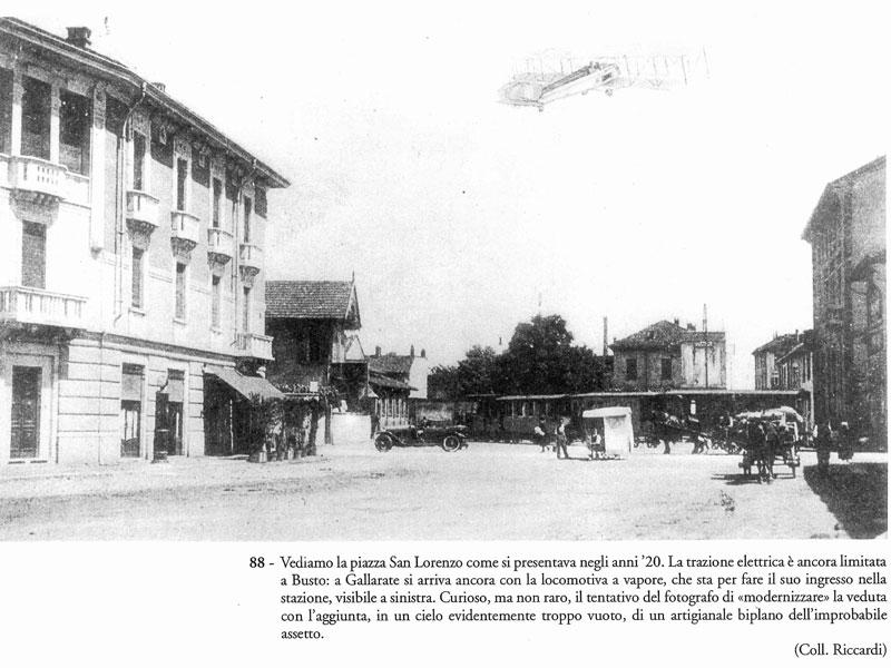 Restauro edifici centri storici - foto storica gallarate