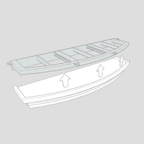 Sottobalconi e terrazzi in polistirolo realizzati su misura per decorare e mascherare eventuali elementi strutturali