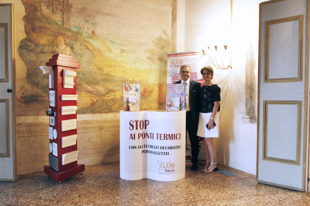 Eleni Decor sponsor - Villa Vescovi - Premiazione Made in Padova - Food & Design