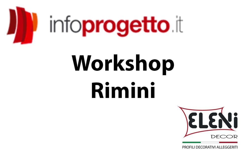 Workshop Infoprogetto – Rimini 18 febbraio 2015