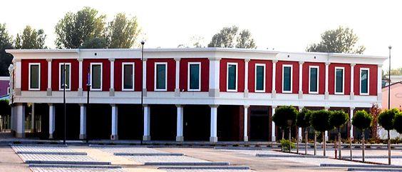 DeltaPo Outlet Village - esterno facciata