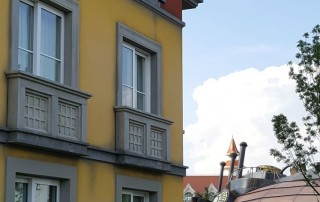 Gardaland Adventure Hotel - produzione elementi decorativi per facciata