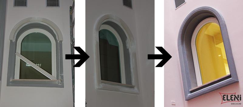 Davanzale isolato e rivestito - Griglie per finestre esterne ...
