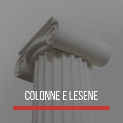 colonne e lesene in polistirolo